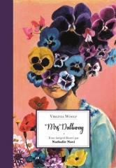 mrs Dalloway, Tibert editions, Nathalie novi, livre illustré, Virginia Woolf, roman mélancolique