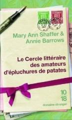 le cercle littéraire des amateurs d'epluchures de patates, ann shaffer, annie barrows, le livre du dimanche, books are my wonderland