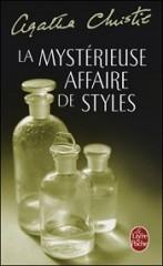 agatha christie, hercule poirot, la mystérieuse affaire de styles, le livre du dimanche, books are my wonderland, challenge, les livres de george