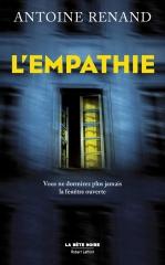 l'empathie, la bête noire, Robert Laffont, Antoine renand