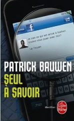 seul à savoir,patrick bauwen,l'oeil de caine,monster,thriller,books are my wonderland