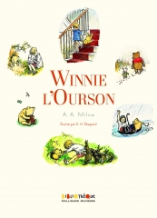 winnie l'ourson, classique pour enfant, classique anglais, a. a. Milne, bourriquet, porcinet, tigrou