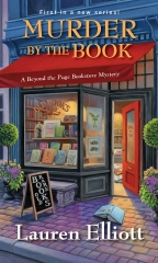 murder by the book, Lauren Elliott, beyond the page bookstore mystery, cosy mystery