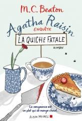 agatha raisin,campagne anglaise,enquête,la quiche fatale,m.c. beaton