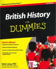 british history for dummies,pour les nuls,histoire de l'angleterre,histoire du royaume-uni,sean lang