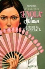 le secret de l'éventail,enola holmes,nancy springer