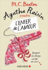 Agatha raisin, agatha raisin enquête, tome 11, l'enfer de l'amour, policier anglais, village anglais, m. c. beaton