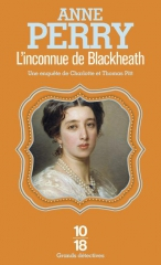 l'inconnue de blackheath, anne perry, saga pitt