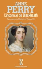 l'inconnue de blackheath, anne perry, saga pitt