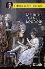 voltaire,frédéric lenormand,babelio,meurtre dans le boudoir,la baronne meurt à cinq heures