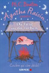 m. c. beaton, agahta raisin, agatha raisin enquête, saga Agatha raisin, du lard ou du cochon, cotswolds, village anglais