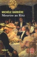 michèle barrière,salon du livre,le livre de poche,meurtre au ritz,roman historique,l'affaire dreyfus,escalier