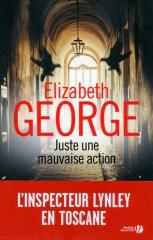 juste une mauvaise action, babelio, masse critique, elizabeth george