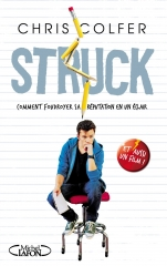 struck,chris colfer,glee,livre