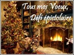 tous mes voeux,défi épistolaire,christmas,noël,carte de voeux,jane austen,joyeux noel,books are my wonderland