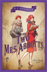 d.e. stevenson,the two mrs abbott,barbara buncle,miss buncle saga,village anglais