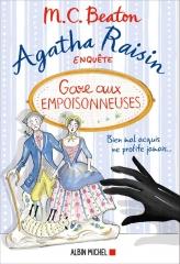 saga Agatha raisin, Agatha Raisin, m. c. beaton, gare aux empoisonneuses, Albin Michel, policier anglais, cotswolds
