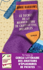 le secret de la manufacture de chaussettes inusables, annie barrows, cercle arion, robert laffont, nil
