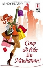 coup de folie sur manhattan,mindy klasky,babelio,masse critique