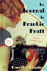le journal de frankie pratt, caroline preston, le nil, scrapbooking, journal intime