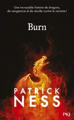 Burn, Patrick ness, littérature jeunesse, babelio, masse critique