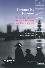 trois hommes dans un bateau, jerome k. jerome, les chefs d'oeuvre de la littérature jeunesse, robert laffont, humour anglais
