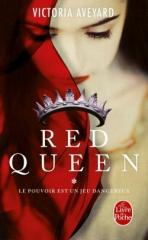 babelio,masse critique,red queen,le pouvoir est un jeu dangereux,dystopie,jeunesse,le livre de poche,victoria aveyard