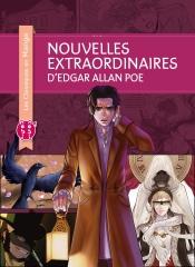 nouvelles extraordinaires, Stacy king, Edgar Allan Poe, manga, les classiques en manga